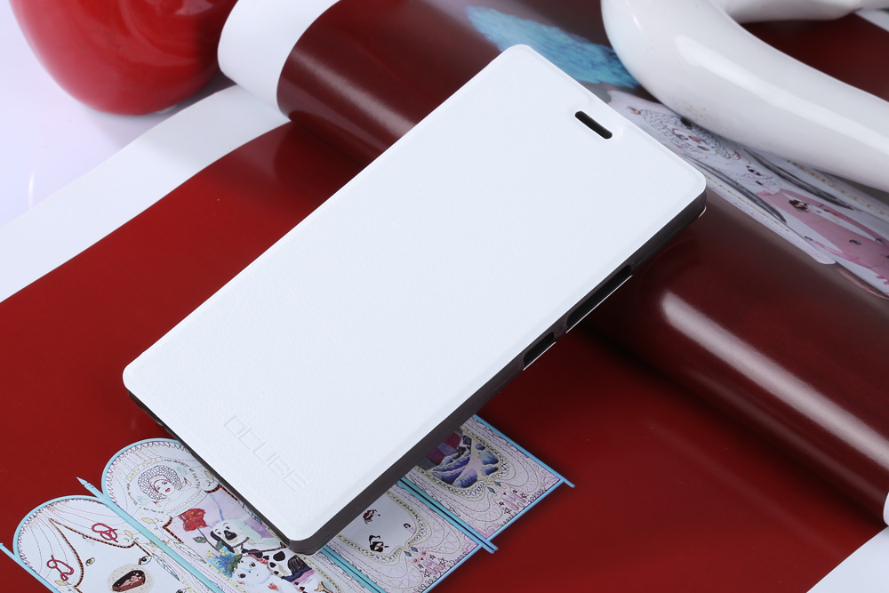 OCUBE PU Leather Full Body Phone Protective Case with Foldable Stand for Oukitel C4