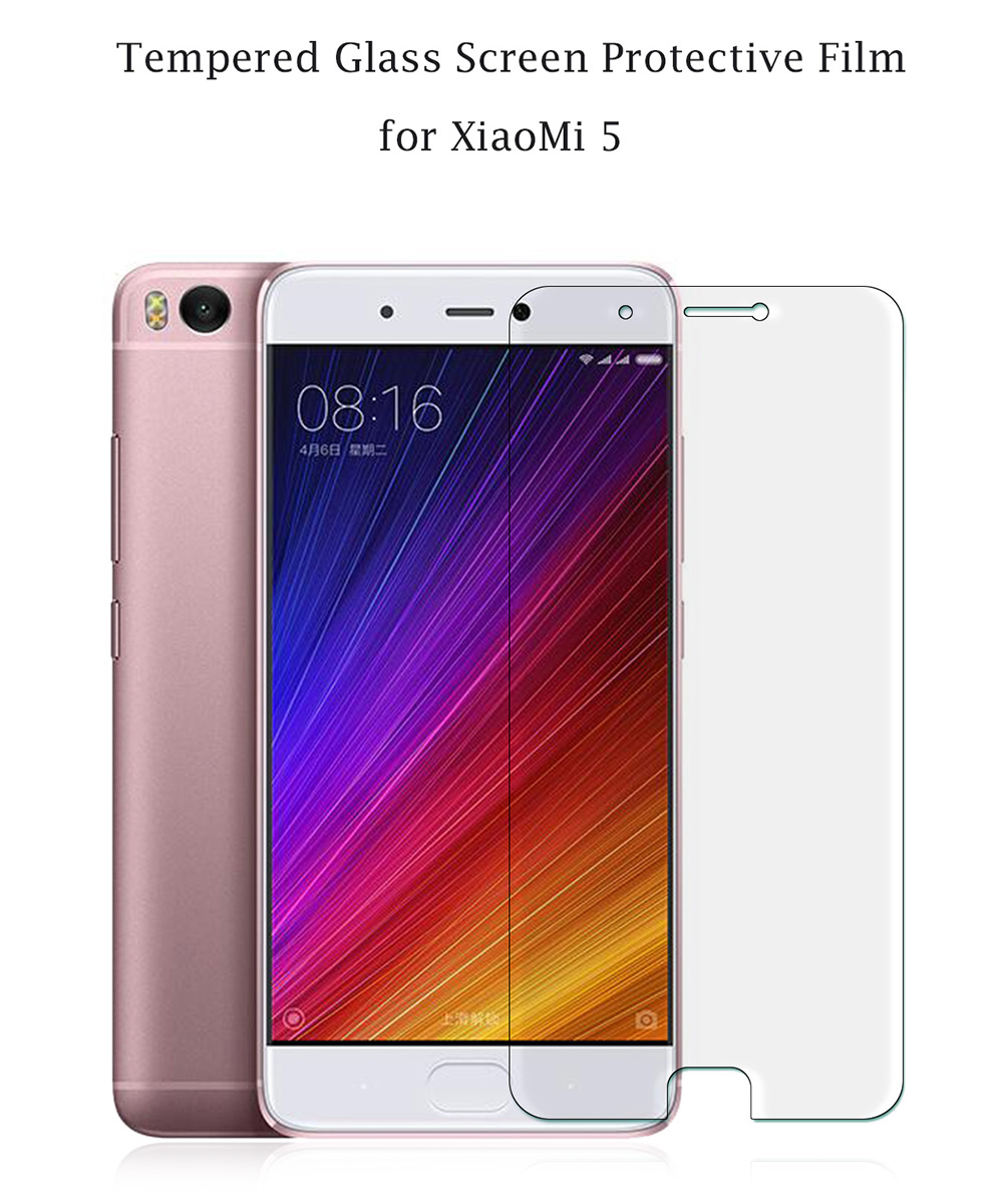 Tempered Glass Screen Protective Film for Xiaomi 5 Ultra-thin 0.3mm 2.5D 9H Explosion-proof Protector