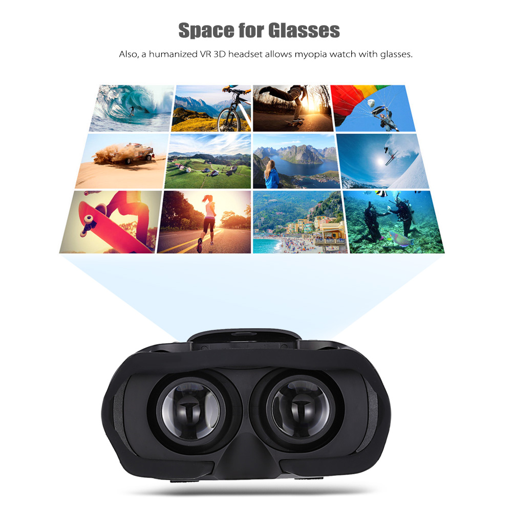 VR07 5.5 inch 1080P All-in-one VR 3D Glasses with IPD Adjustment