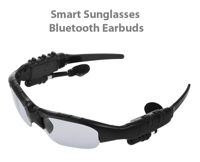 KST - 109LY - H Smart Digital Sunglasses Bluetooth 4.1 Stereo Sports Earbuds Support Hands-free Calls