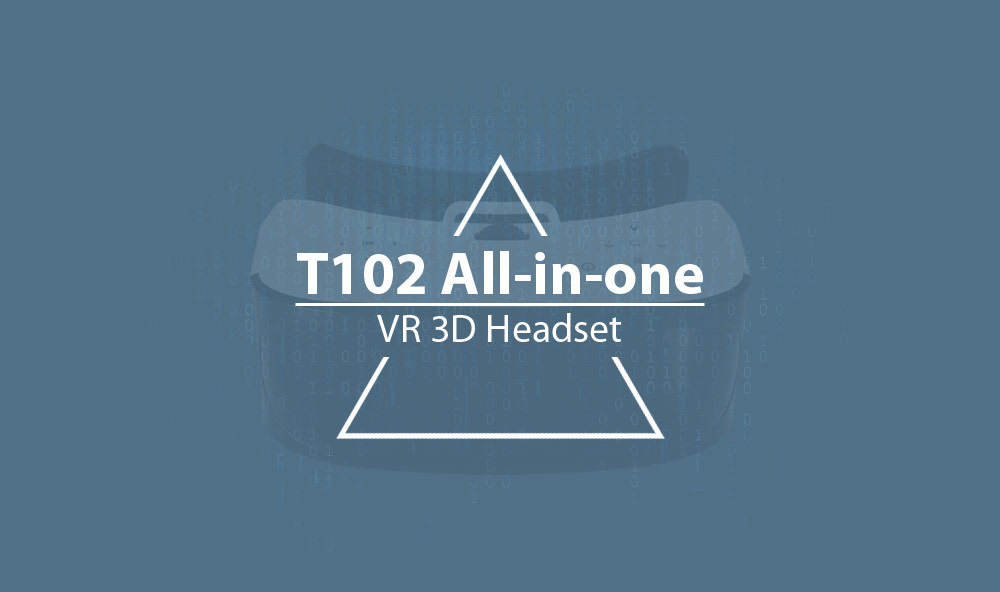 T102 All-in-one VR 3D Headset 5.5 inch 1080P with WiFi Function