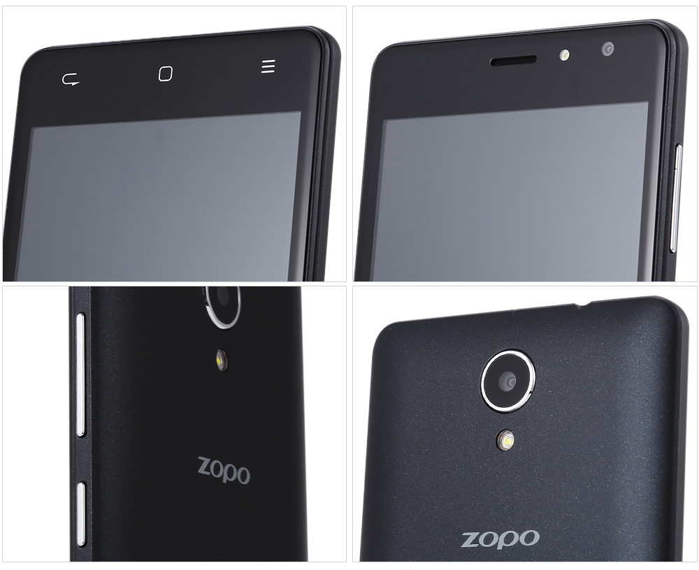 Zopo Hero C2 Android 6.0 5.0 inch 3G Smartphone MTK6580 Quad 1.3GHz 1GB RAM 8GB ROM Bluetooth 4.0 Gravity Sensor