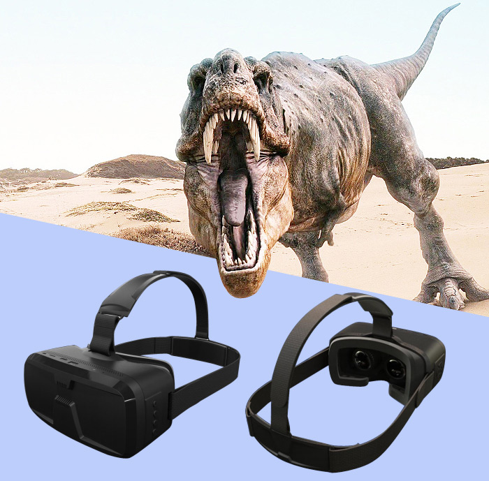 VA - T3 All-in-one VR Headset 5.5 inch Screen INTEL CPU 1080P FHD 60Hz Refresh Rate