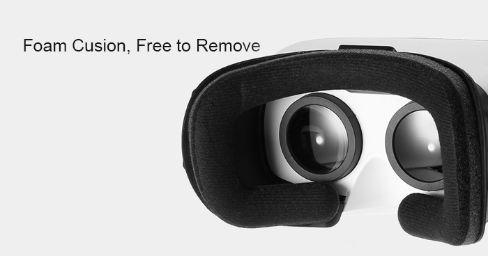 VR SKY CX - V3 All-in-one 3D Headset Virtual Reality Glasses 1080P 100 Degree FOV with Touch Pad TF Card Slot
