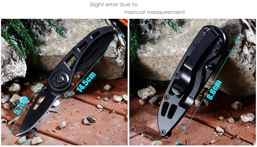 PA38 Frame Lock Folding Knife with 3Cr13Mov Stainless Steel Blade