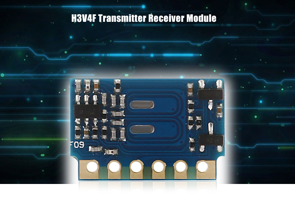 H3V4F RF Transmitter Receiver 433MHz Wireless Module for DIY Projects