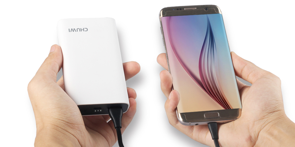 CHUWI M - 10000 Qualcomm Certification Two-way Quick Charge 3.0 10050mAh Mobile Power Bank