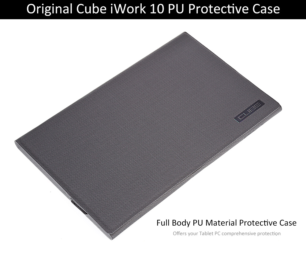 Original Cube iWork 10 PU Protective Case with Folding Design Stand Function