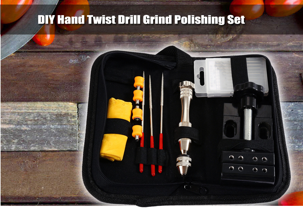 Woodworking Hand Twist Drill Set for DIY Project
