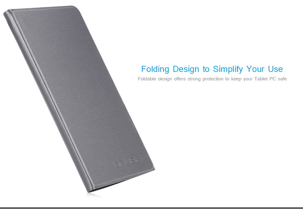 OCUBE PU Protective Case Full Body Folding Stand Design for Cube WP10