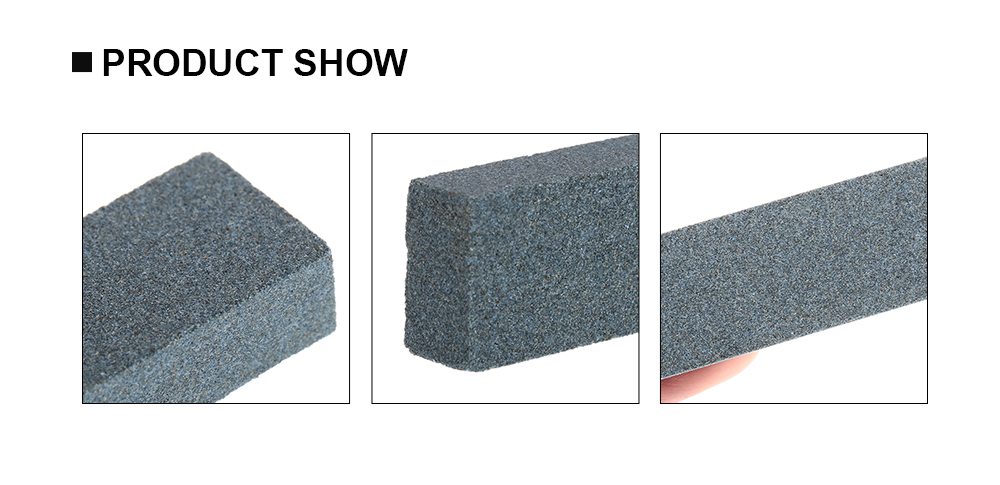 Portable 120 Grit Double-sided Silicon Carbide Whetstone