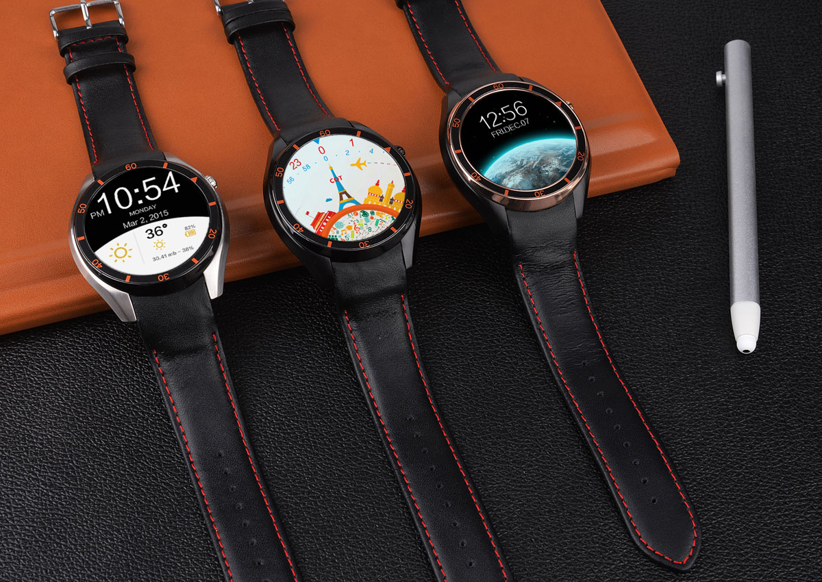 IQI I3 Android 5.1 1.39 inch 3G Smartwatch Phone MTK6580 1.3GHz Quad Core 512MB RAM 4GB ROM WiFi Pedometer