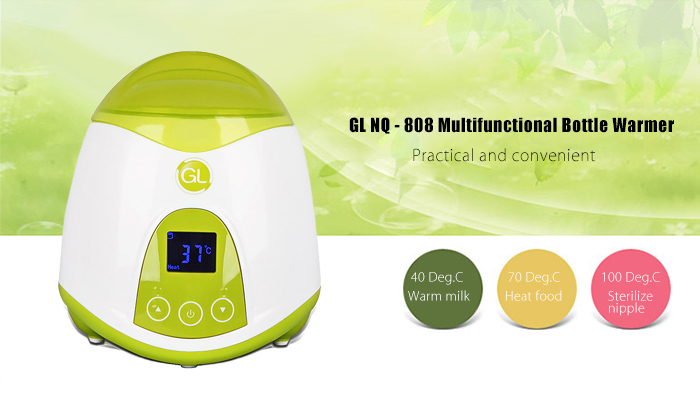 Gland Electronics NQ - 808 Multifunctional Bottle Milk Juice Warmer Nipple Sterilizer
