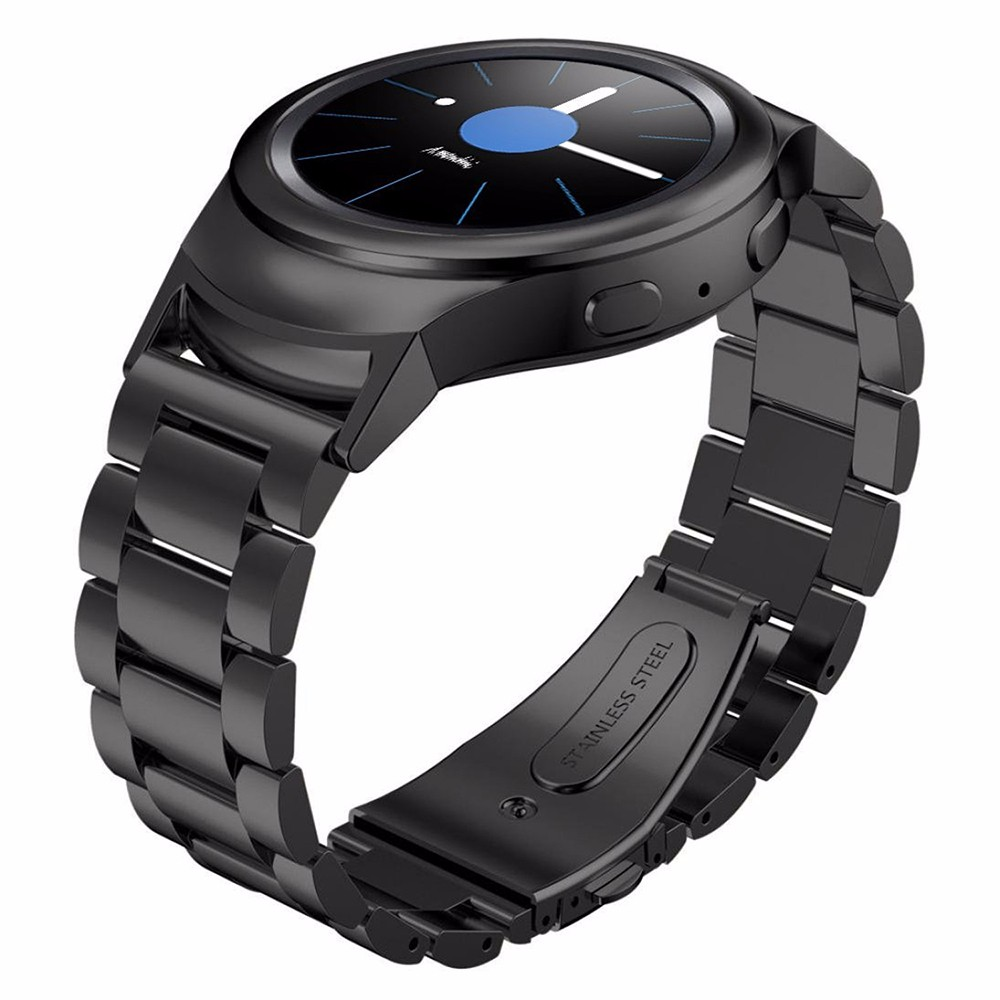 Three Bead Stainless Steel Band for Samsung Galaxy Gear S2 R730 R720 Smart Watch