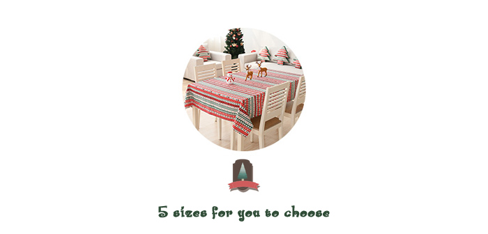 Senhot Christmas Table Cloth Festival Product