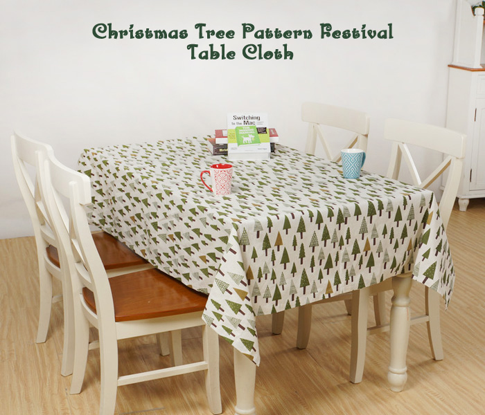 Creative Christmas Festival Table Cloth for Party Banquet