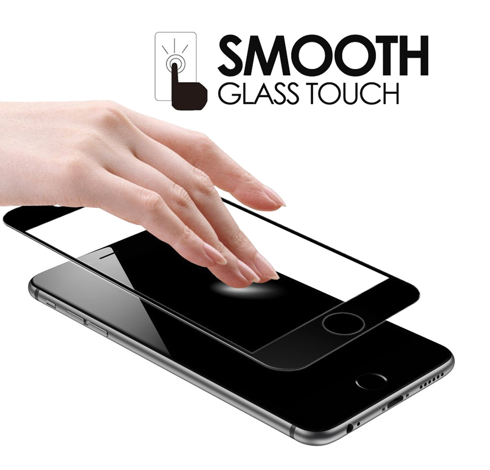 Hat - Prince Tempered Glass Screen Protective Film for iPhone 7 Plus 0.26mm 3D 9H Explosion-proof Full Cover Protector