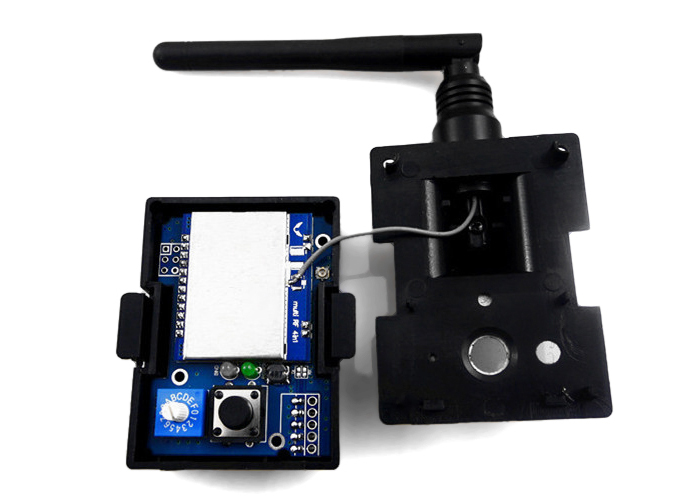 2.4GHz CC2500 24L01 A7105 6936 4-in-1 Multiprotocol Tx Module with Antenna for FlySky FrSky Devo DSM2
