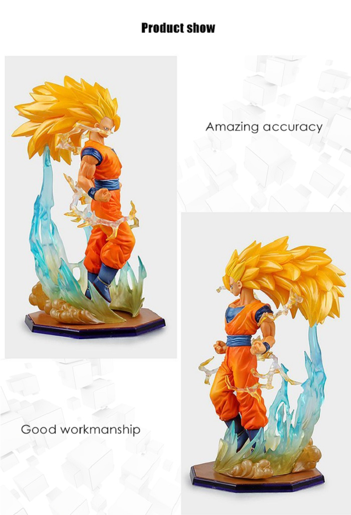 Action Figure Animation Collectible PVC Figurine Toy - 7 inch