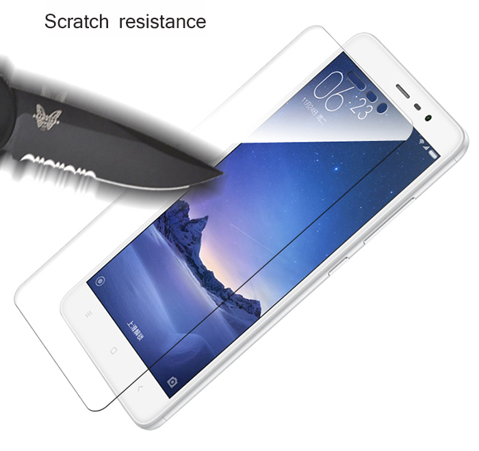 Gocomma Tempered Glass Screen Protective Film for Xiaomi Redmi Note 3 Pro International Version 0.26mm 2.5D 9H Explosion-proof Protector