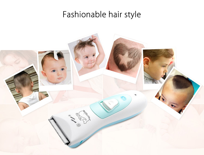 Gland Electronics L - 6 Baby Infant Electric Shaver Low Noise Waterproof Hair Clipper