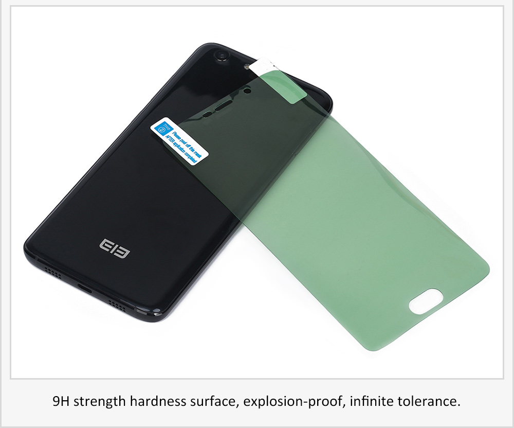 Original Elephone Tempered Glass Screen Protective Film for S7 0.26mm 2.5D 9H Explosion-proof Protector