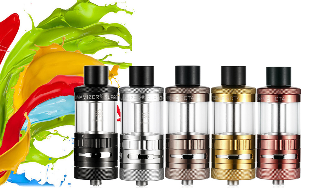 Original STEAMCRAVE Aromamizer Supreme Limited Edition 7ml RDTA with Juice Flow Control System / Top Filling / Adjustable Bottom Airflow for E Cigarette