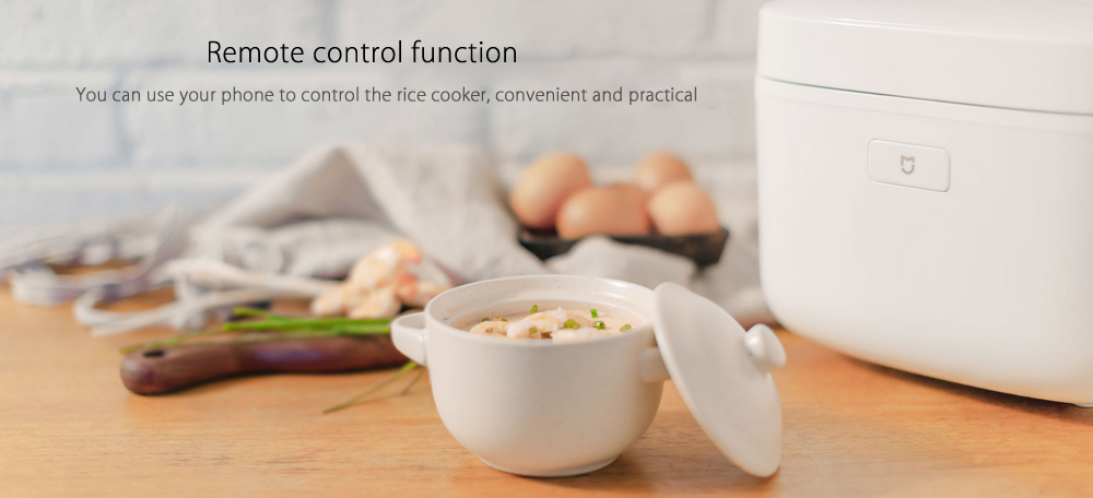 Xiaomi IH 3L Electric Rice Cooker Remote Control Function