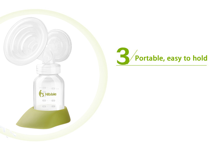 Nibble GLP - 9 Electric PP Low Noise Breast Pump
