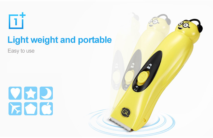 Gland Electronics L - 15 Baby Infant Electric Low Noise Waterproof Hair Clipper
