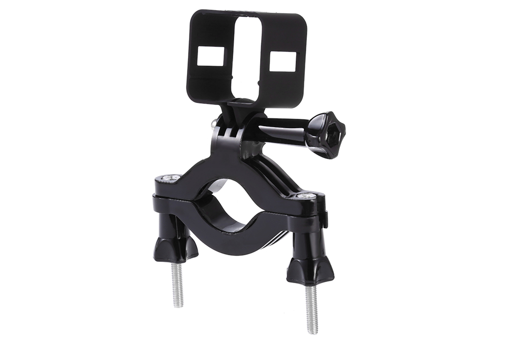 TELESIN Motorcycle Handle Bar Mount with Cage Housing for Polaroid Cube / Cube+ Action Camera
