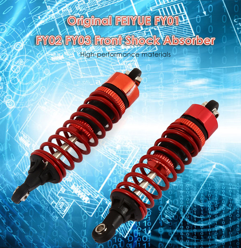 Original FEIYUE Front Shock Absorber Accessory for FY - 01 FY - 02 FY - 03 Racing Car - 2pcs