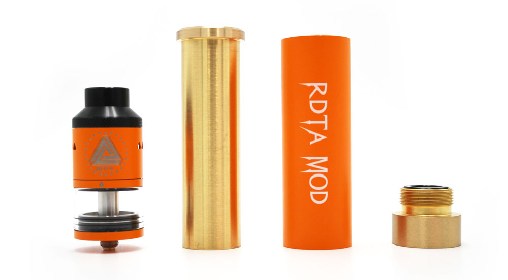 Original IJOY RDTA Mechanical Mod Kit with 6.9ml Capacity / Side Airflow for E Cigarette