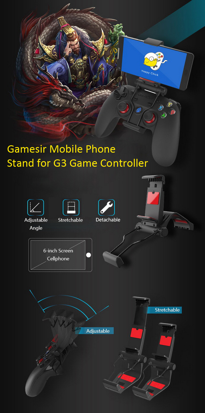 Gamesir Mobile Phone Clip Stand for G3 Game Controller