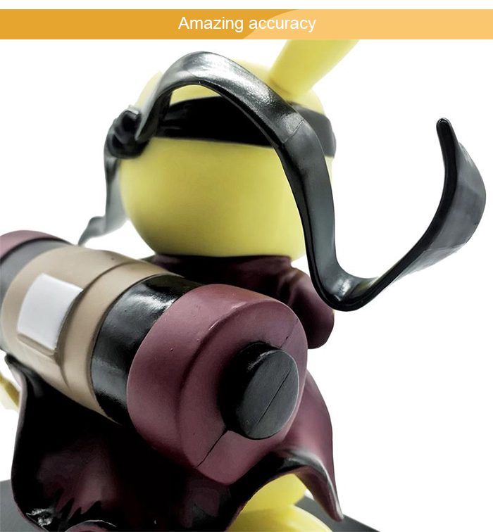 5.1 inch PVC + ABS Static Action Figure Animation Collectible Figurine