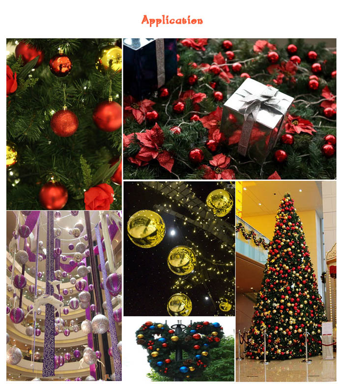24PCS Christmas Tree Decorative Balls Home Decoration