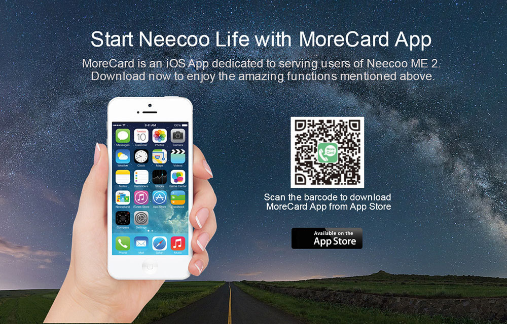 NeeCoo Bluetooth V4.0 Dual SIM Card Adapter for iPhone SE / 5S / 6 / 6 Plus / 6S / 6S Plus / 7 / 7plus / iPod / iPad / iTouch Ultra-thin Lightweight Design