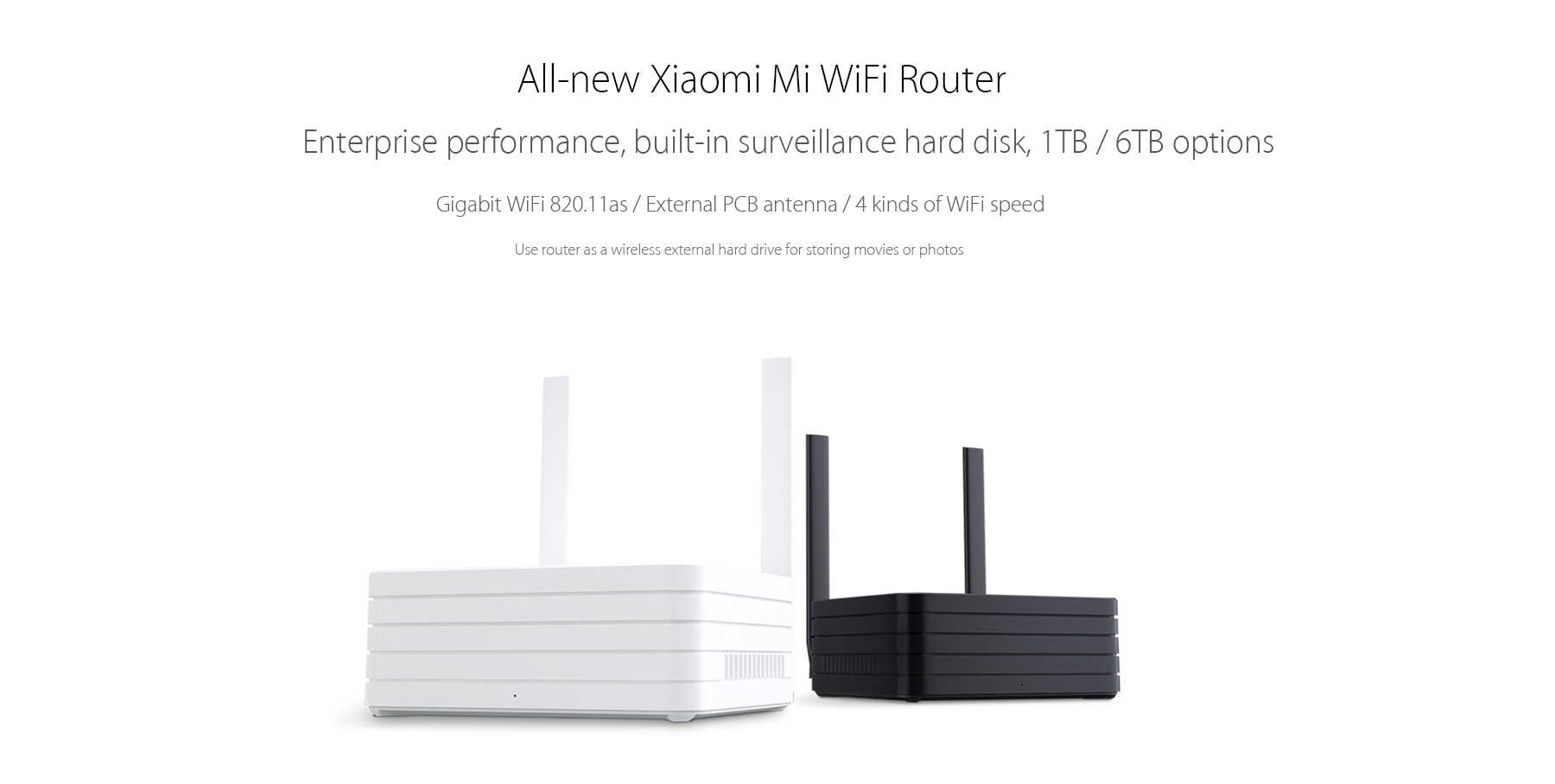 All-new XiaoMi Mi WiFi Router for iPhone 6S / 6S Plus / 6 / 6 Plus / iPad Pro / Samsung S6 / Edge S6 / HTC ONE M9 / HUAWEI P8