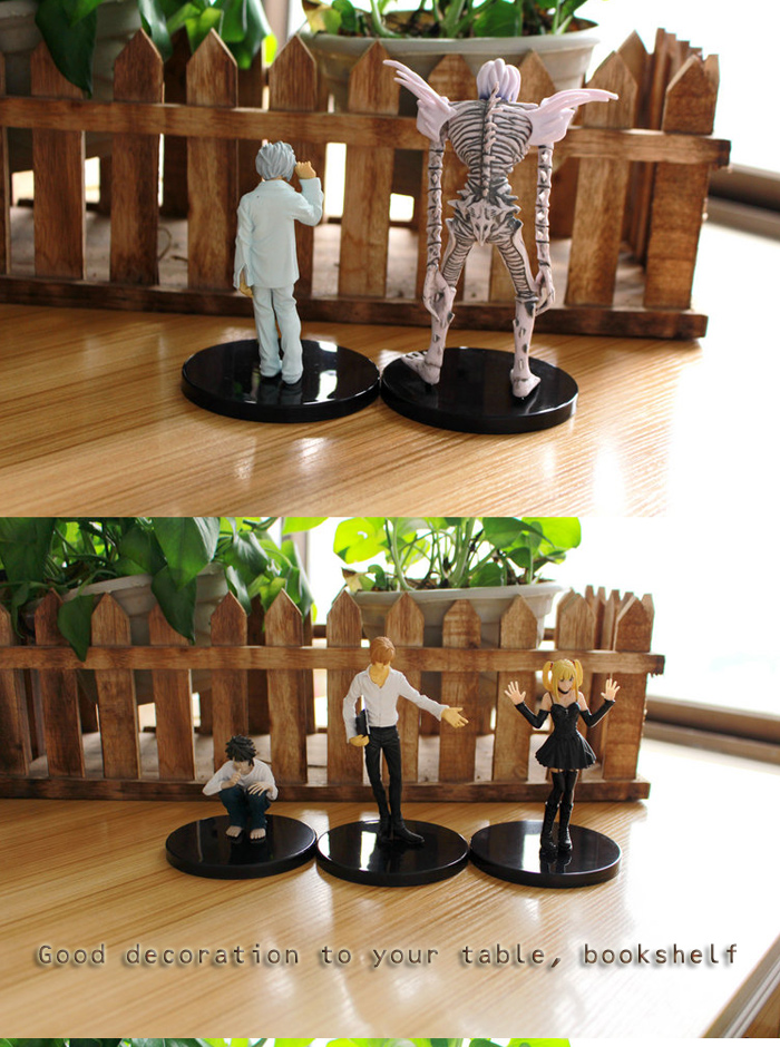 Static Action Figure Animation Collectible PVC + ABS Figurine - 6pcs / set