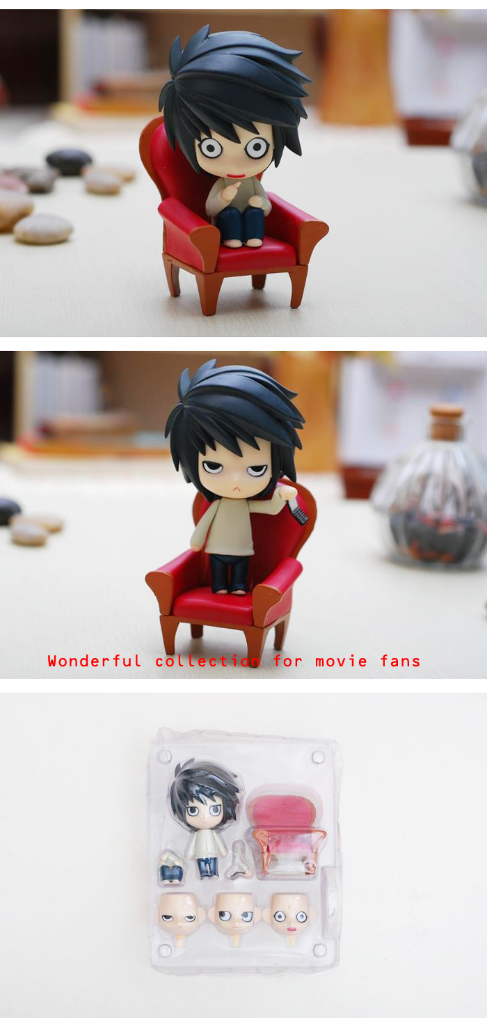 3.94 inch Static Action Figure Animation Collectible PVC + ABS Figurine