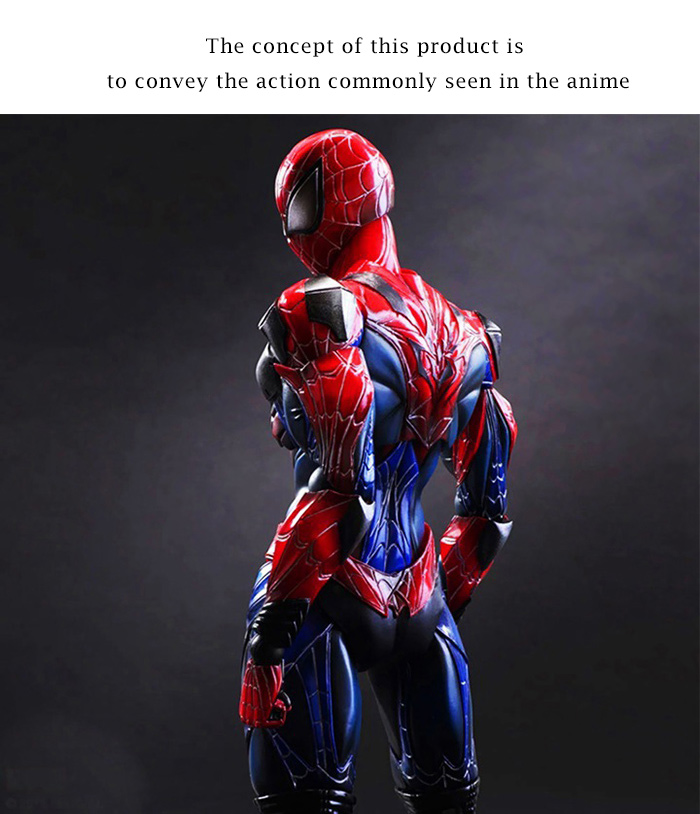 9.84 inch PVC + ABS Movable Joint Action Figure Animation Collectible Figurine