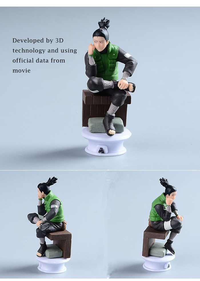 3.34 inch PVC + ABS Static Action Figure Animation Collectible Figurine - 6pcs / set
