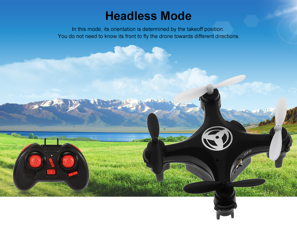 YU XIANG A5L Mini RC Multicopter RTF WiFi FPV 0.3MP Camera 2.4GHz 4CH 6-axis Gyro Altitude Hold Headless Mode