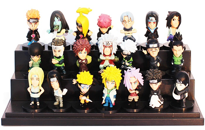 1.96 inch PVC + ABS Static Action Figure Animation Collectible Figurine - 21pcs / set