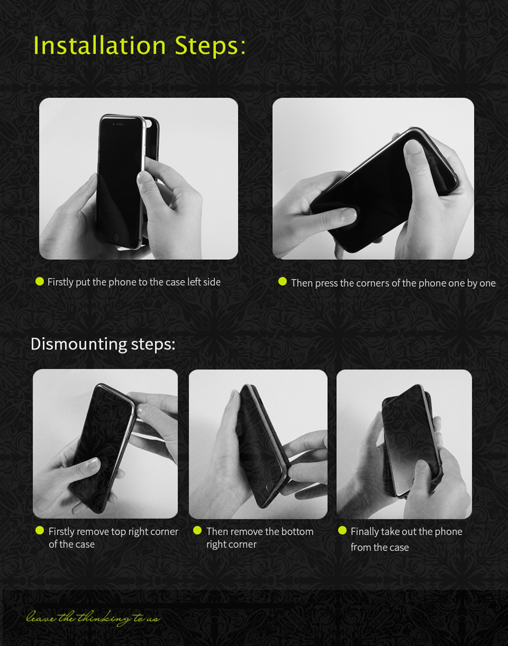 Benks Laser Etching Ultra-thin Protective Phone Case for iPhone 7 Anti-sweat Smudge Resistance Protector