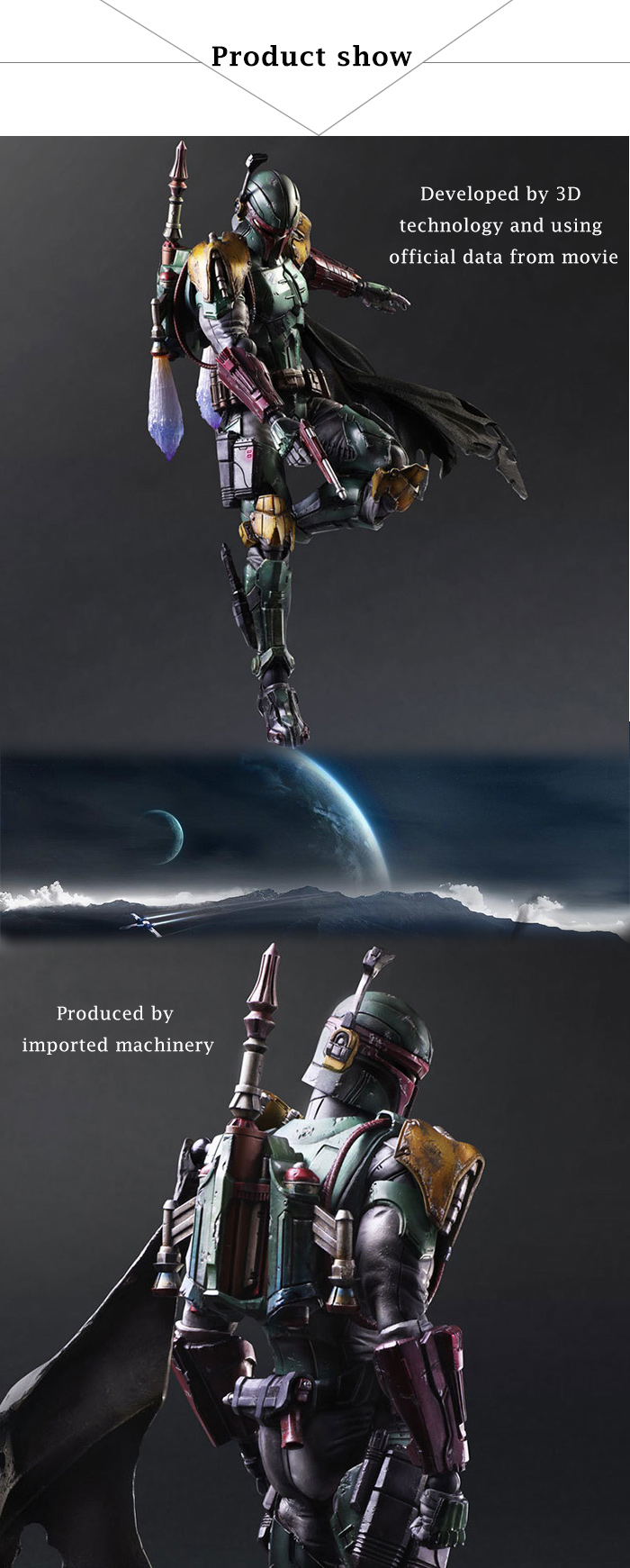 11 inch PVC + ABS Movable Joint Action Figure Animation Collectible Figurine