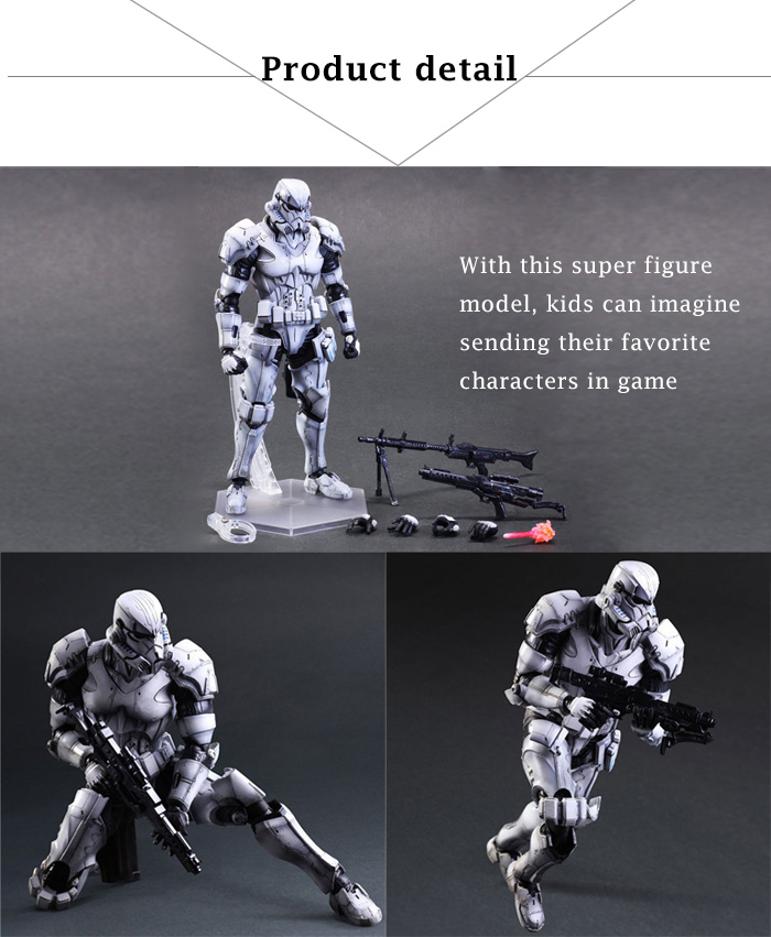 10.6 inch PVC + ABS Movable Joint Action Figure Animation Collectible Figurine