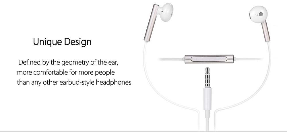 Huawei Honor AM116 Music In-ear Earphone with Mic Supporting Hands-free Calls