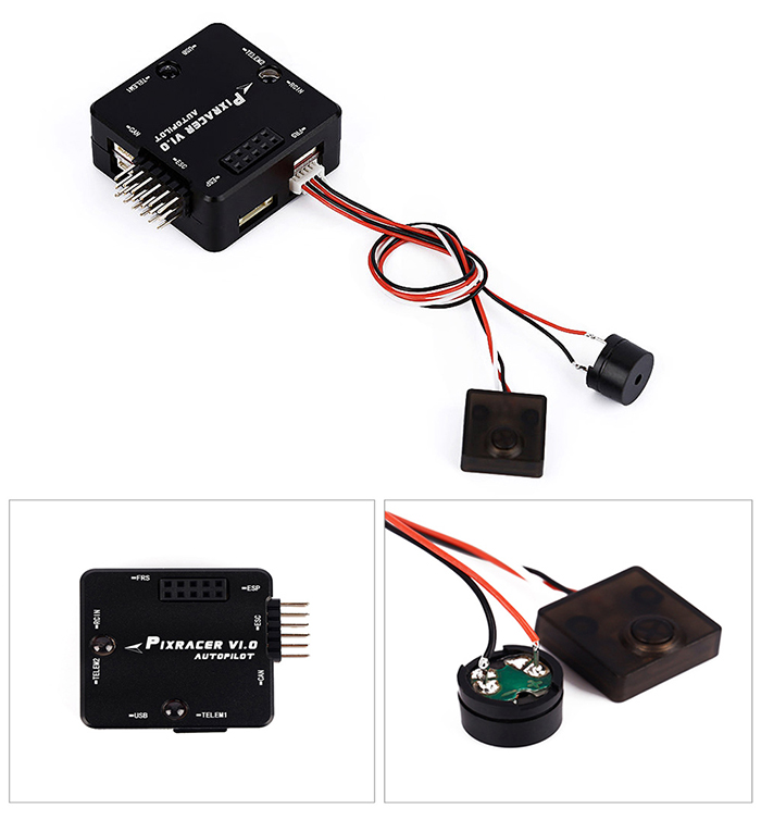 Pixracer Autopilot Xracer V1.0 Flight Controller with Built-in WiFi Module for FPV Racing RC Multirotor