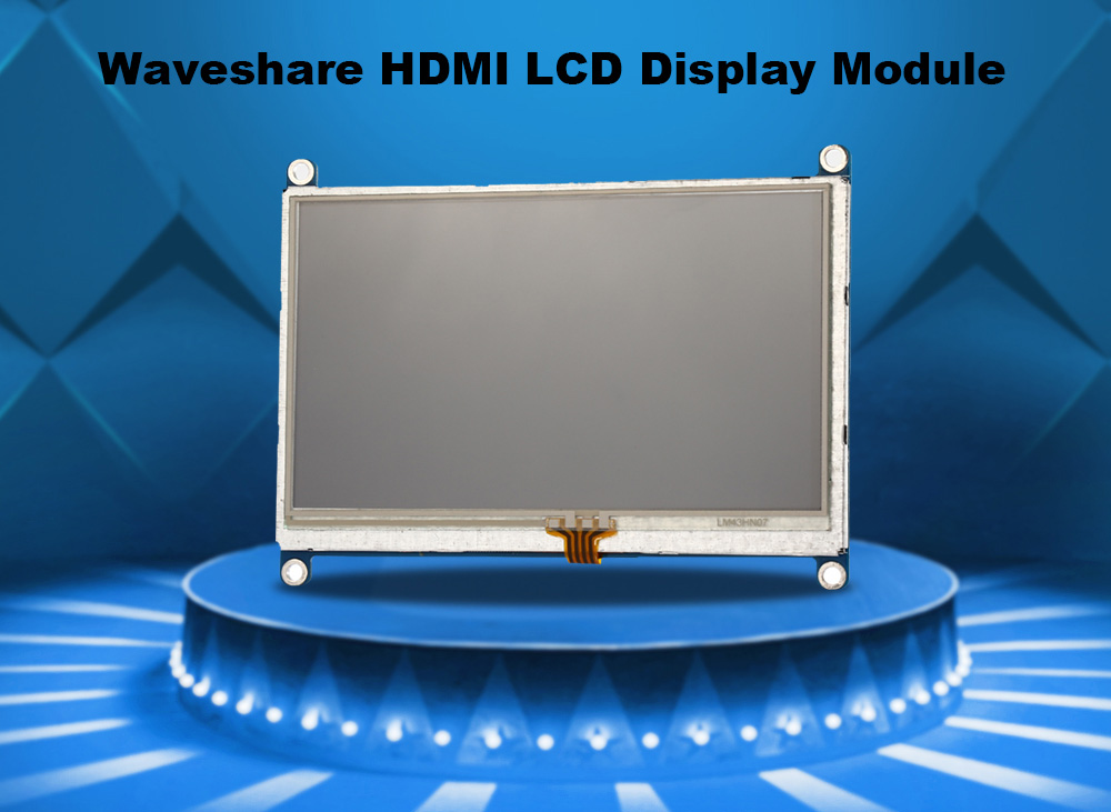 Waveshare 4.3 inch HDMI LCD Display Module DIY for Raspberry Pi
